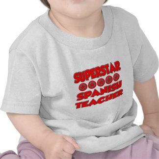 Superstar Spanish Teacher T-shirt