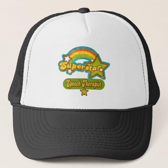 Superstar Speech Therapist Trucker Hat