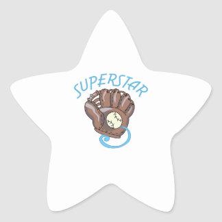 Superstar Star Sticker