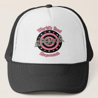 Superstar Stepmom in Pink Trucker Hat