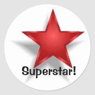 Superstar! Stickers