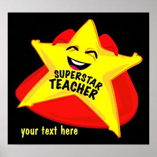 superstar  teacher humorous  poster! poster