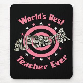 Superstar Teacher Mouse Pad