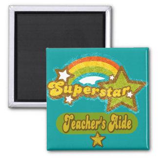 Superstar Teacher's Aide Fridge Magnets