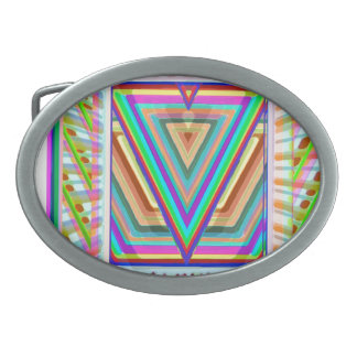 SuperStar Triangle Logo Belt Buckle