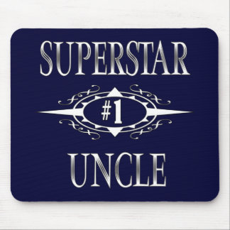 Superstar Uncle Mouse Pad