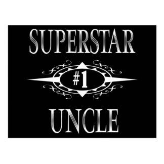 Superstar Uncle Postcard