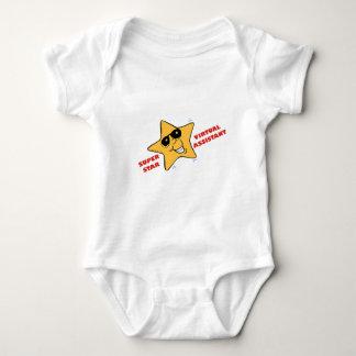 superstar VA Baby Bodysuit