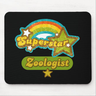 Superstar Zoologist Mouse Pad