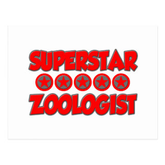 Superstar Zoologist Postcards