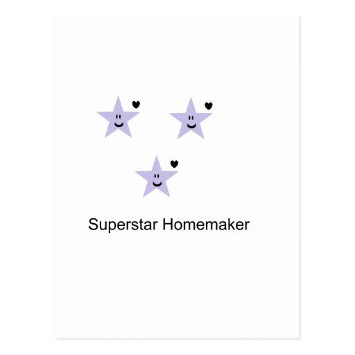 Superstarhousewife Tarjetas Postales