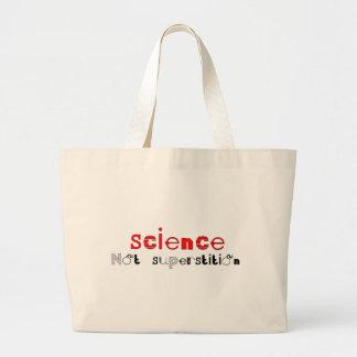 Superstición de la ciencia no bolsas de mano
