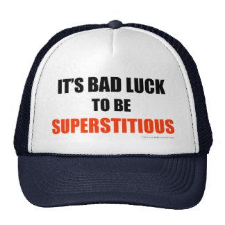 Supersticioso Gorras De Camionero