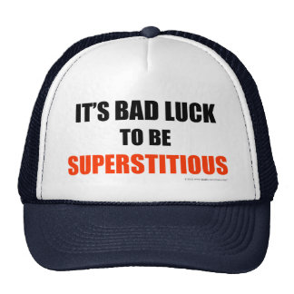 Supersticioso Gorras De Camionero