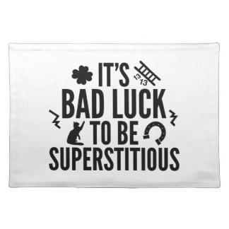 Supersticioso Manteles
