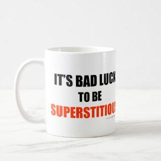Supersticioso Tazas