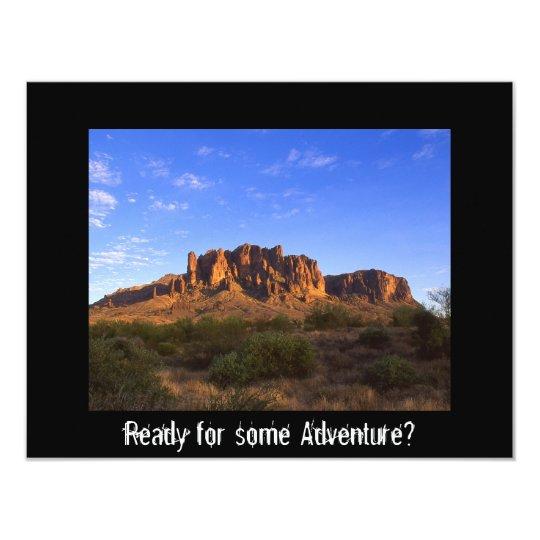 Superstition Mountain, Arizona Card