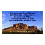 Superstition Mountain Business Card