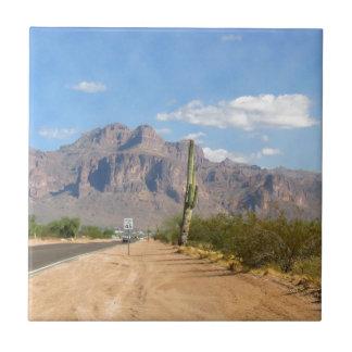 Superstition Mountain - Panoramic Ceramic Tiles