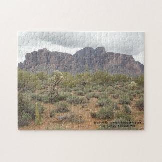 Superstition Mountain Range of Arizona Puzzles