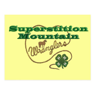 Superstition Mountain Wranglers Postcard