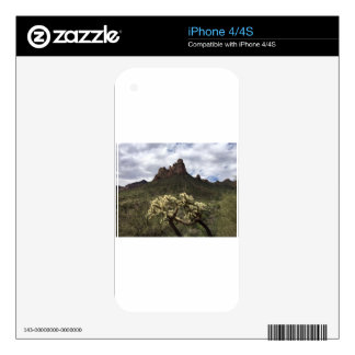 Superstition Mountains Decals For The iPhone 4S