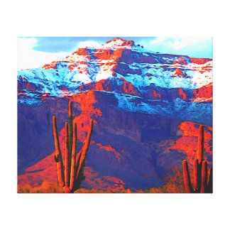 Superstition Snow Canvas Print