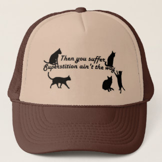 Superstition-Stevie Ray Trucker Hat