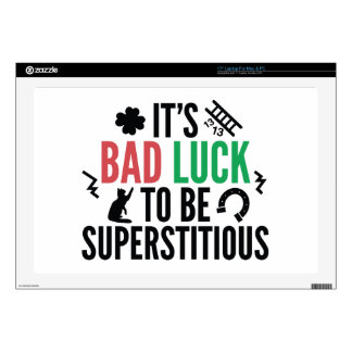 Superstitious Decals For Laptops