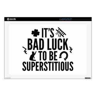 Superstitious Laptop Skin