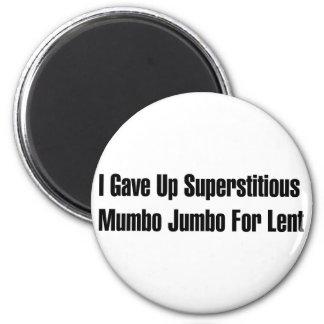 Superstitious Nonsense Magnet