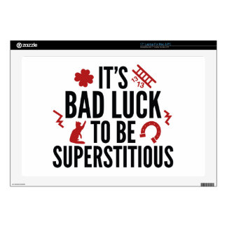 Superstitious Skins For Laptops