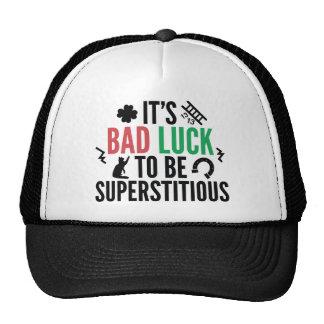 Superstitious Trucker Hat
