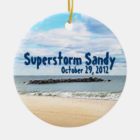 Superstorm Sandy Ornament