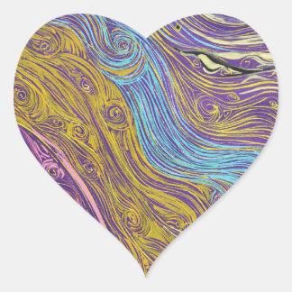 Superstrings Aflowing # 1026.JPG Heart Sticker