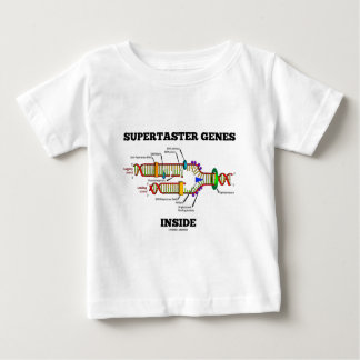 Supertaster Genes Inside (DNA Replication) Baby T-Shirt