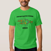 Supertaster Genes Inside (DNA Replication) Tee Shirts
