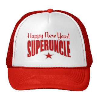SUPERUNCLE New Year hat - choose color