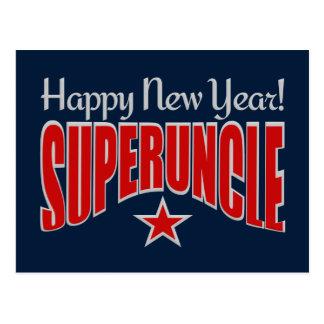 SUPERUNCLE New Year postcard