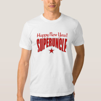 SUPERUNCLE New Year shirt - choose style & color