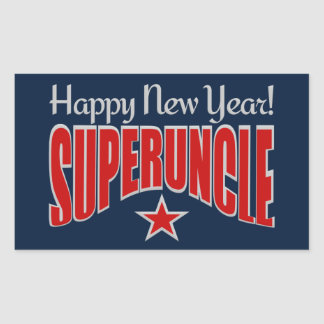 SUPERUNCLE New Year stickers