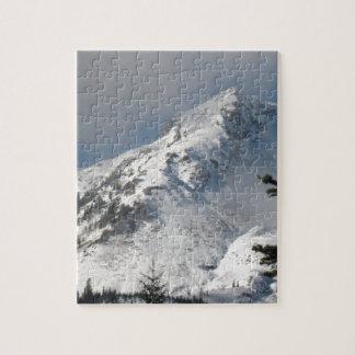 Supervise a Ridge en el lago mount Saint Helens a  Puzzle Con Fotos