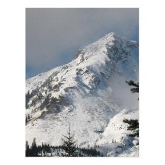 Supervise a Ridge en el lago mount Saint Helens a Postal