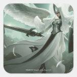 Supervisor angelical pegatinas cuadradases