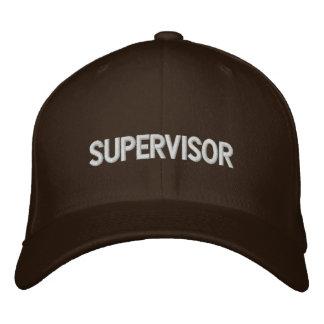 Supervisor Gorras De Béisbol Bordadas