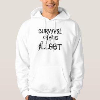 supervivencia de la sudadera con capucha
