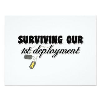 Supervivencia de nuestro 1r despliegue invitación