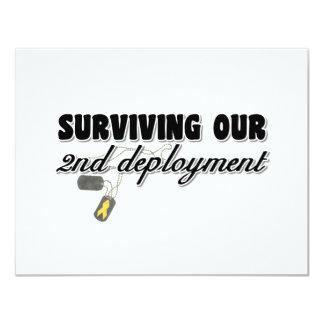 Supervivencia de nuestro 2do despliegue comunicado personalizado