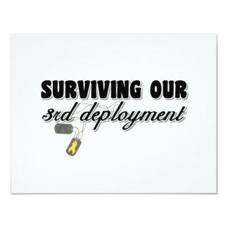Supervivencia de nuestro 3ro despliegue comunicados personales