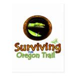 Supervivencia del rastro de Oregon Postal